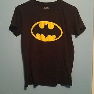 Batman logo tee shirt adult size xs